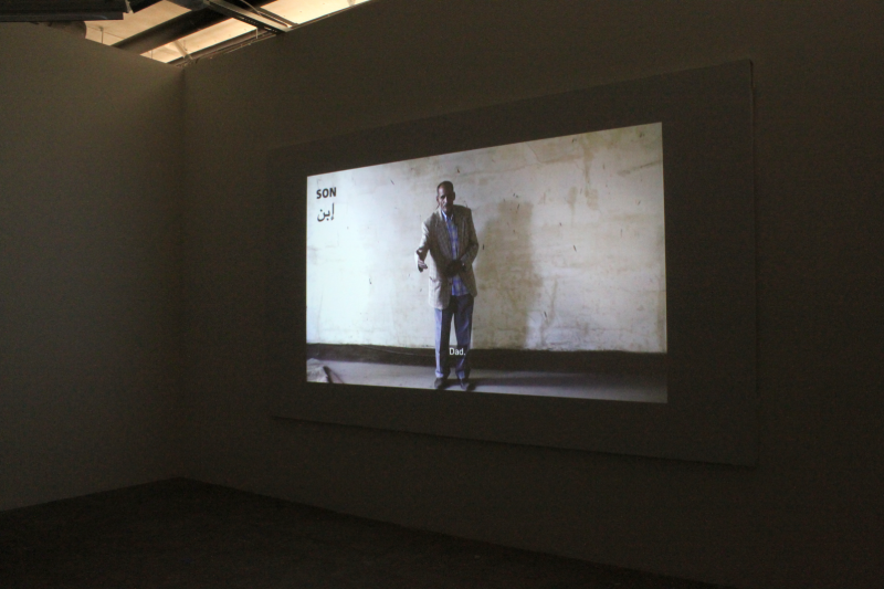 "Installation view from ""Run, Comrade, the old world is behind you"" – Konsthall Oslo, Norway"