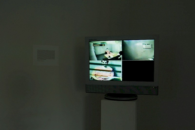 "Installation view from ""I Feel Like I'm Disappearing…"", West Gallery, Den Haag, Netherlands"