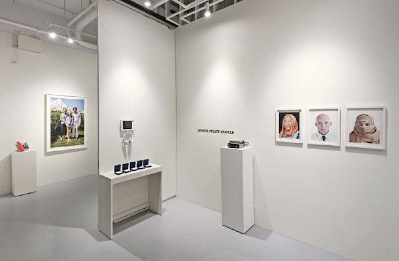 "Installation View ""Crossing the Line"" – Critical Distance, Toronto, Canada"